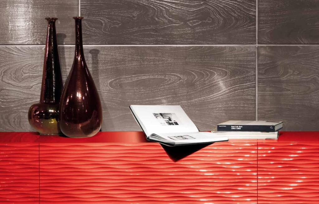 3D фасады для кухни плитка