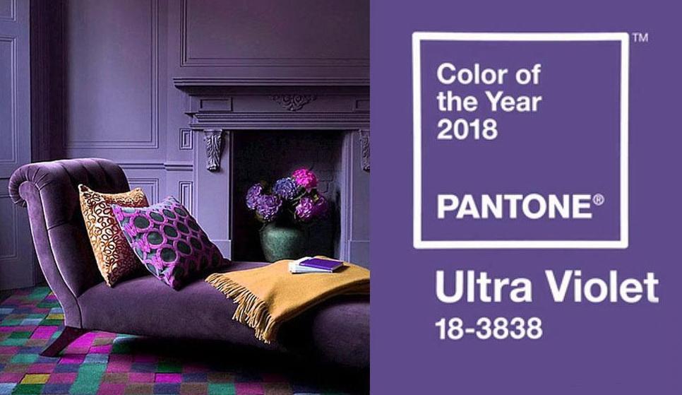 Ультрафиолет - цвет года 2018