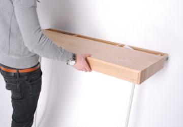 Настенный выдвижной столик