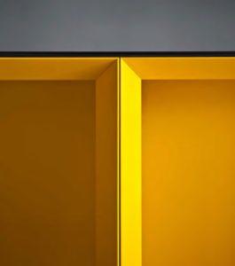 желтые акценты в интерьере
