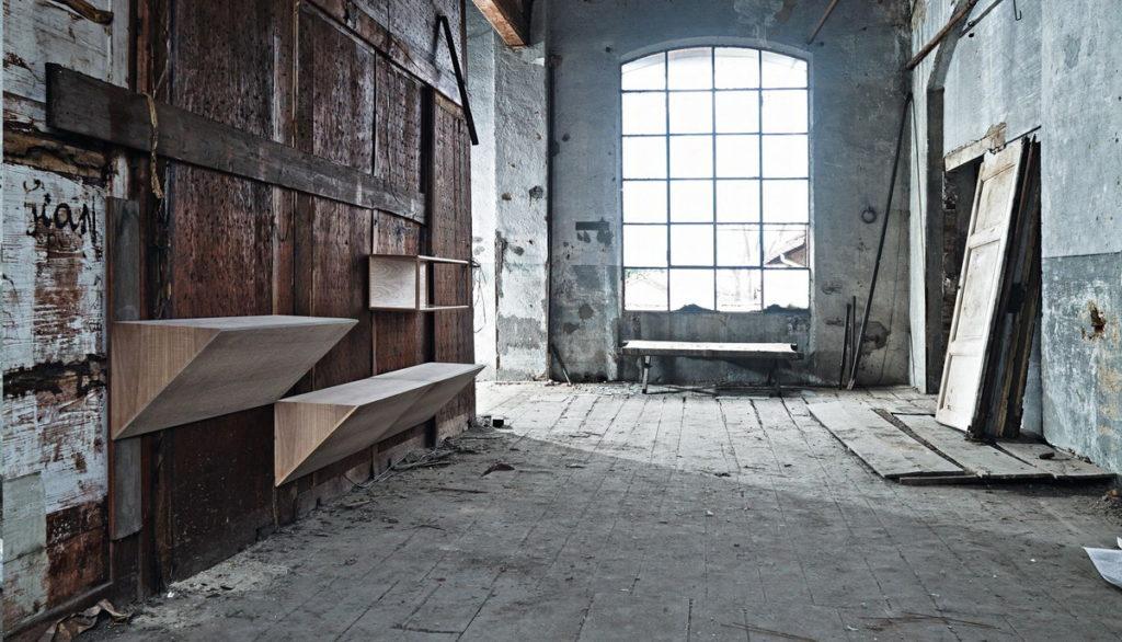 консольный стол секретер