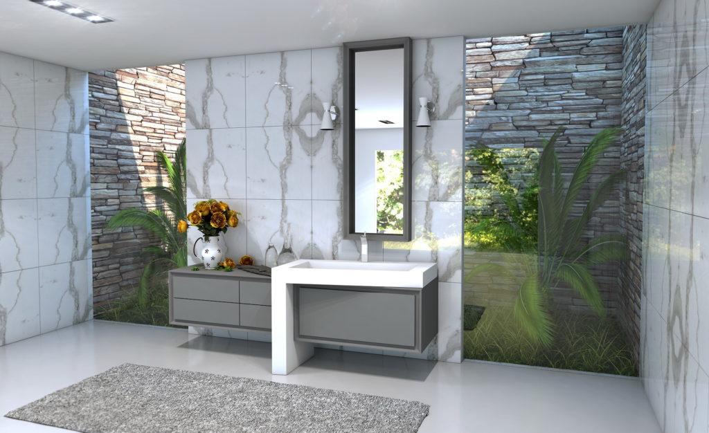 Дизайн мебели для ванной