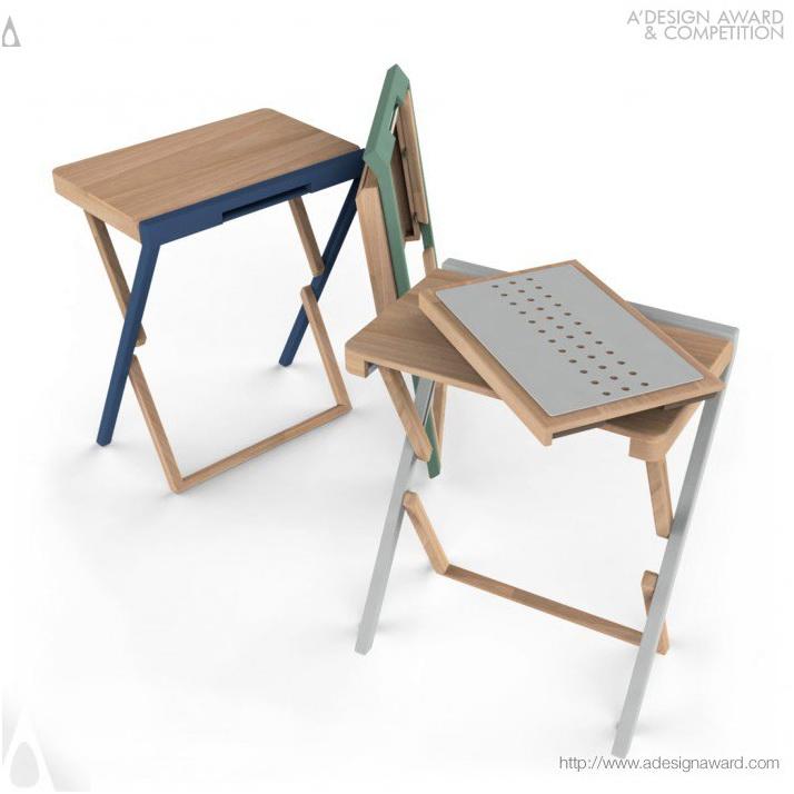 Приставной складной столик