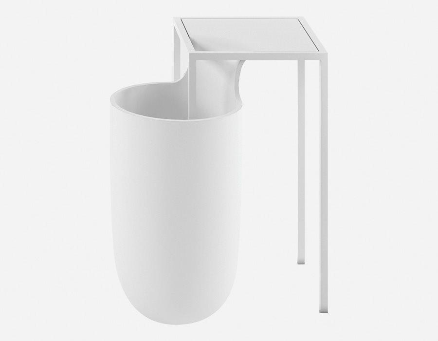 стол мусорное ведро