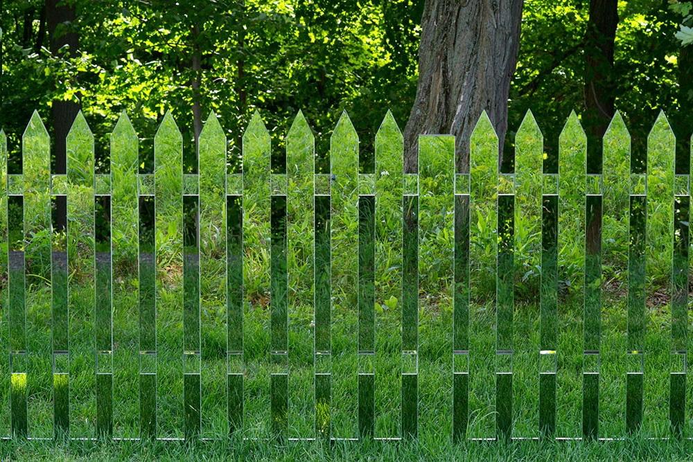 Зеркальный забор