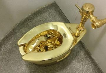 Золотой унитаз Януковича