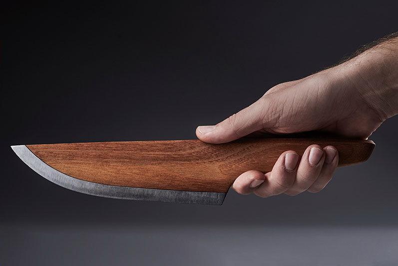 Деревянный нож шеф повара