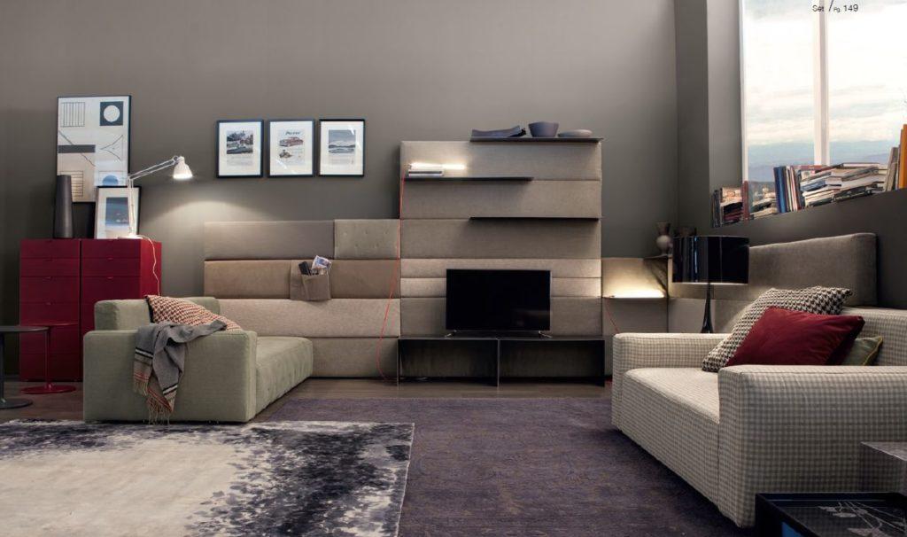 Модульная система диванов