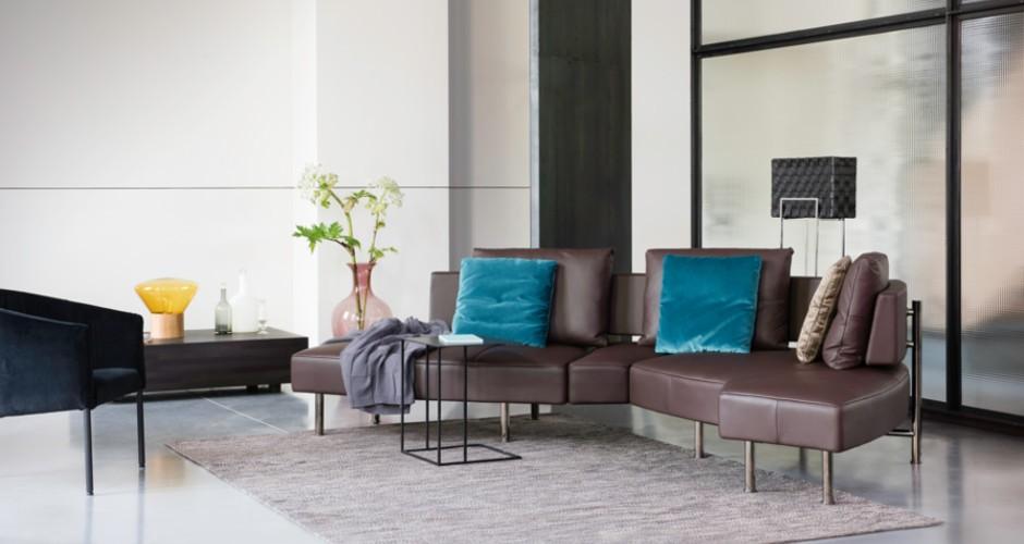 Модульный поворотный диван фото