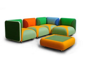 Комбинированный диван