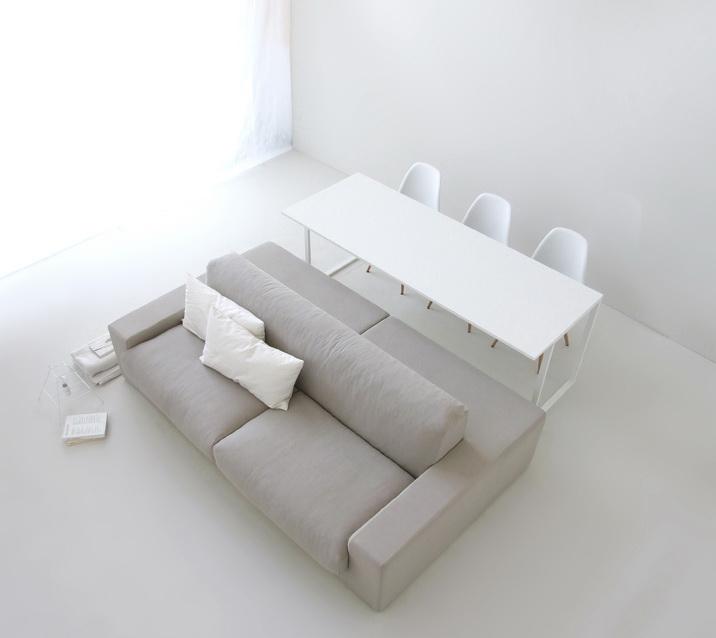 Двухсторонний офисный диван