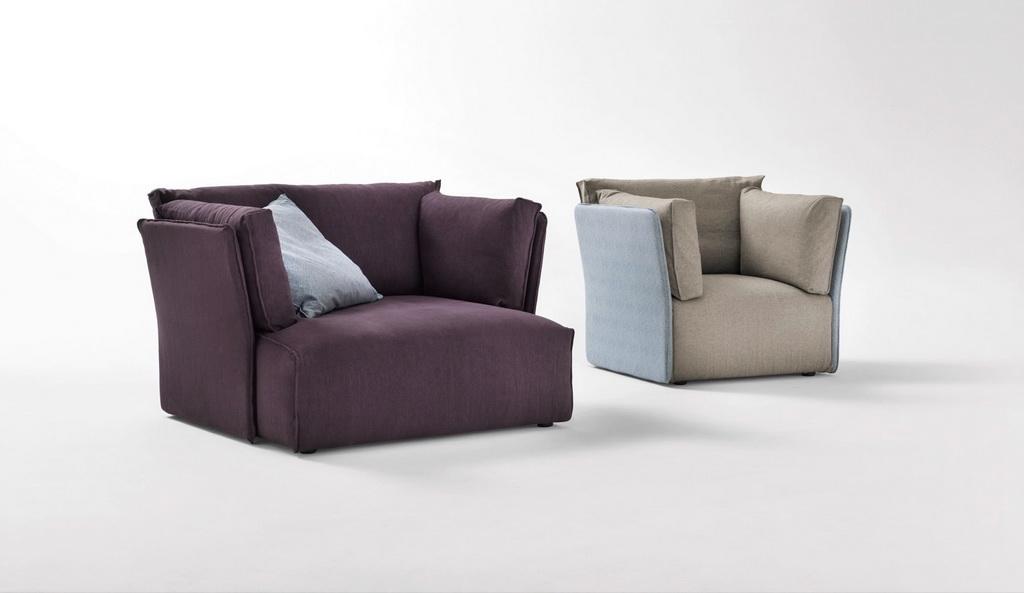гармоничный дизайн дивана
