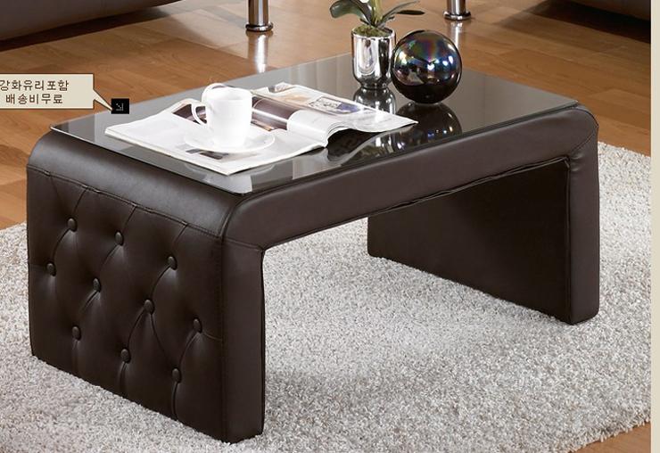 Журнальный столик мягкий
