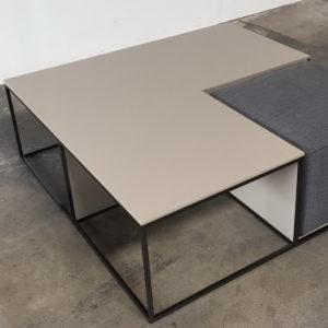 Журнальный столик пуф